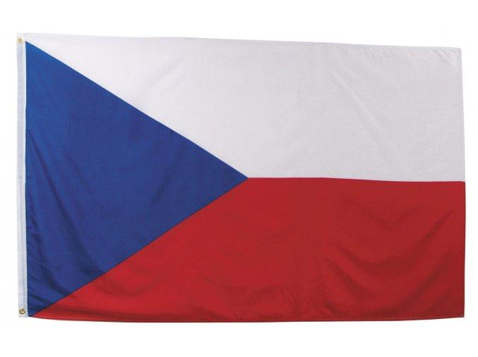 Vlajka ČR - Česká republika o velikosti 90 x 150 cm AKCE