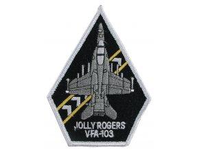 """Nášivka """"VF-103 JOLLY ROGERS"""" B"""