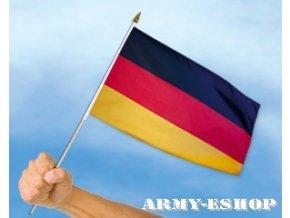 Vlaječka - praporek Německo 30 x 45 cm