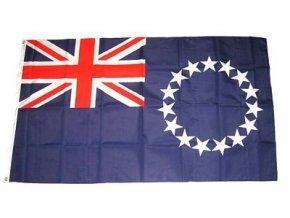 Vlajka Cookovy ostrovy 90 x 150 cm
