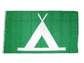 Vlajka Kemping (Camping) 90 x 150 cm