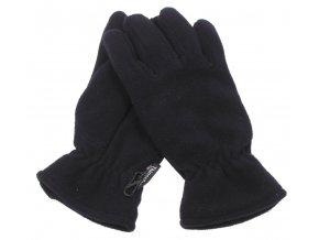 Fleece-rukavice černé Thinsulate