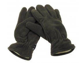 Fleece-rukavice oliv Thinsulate