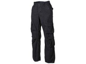Kalhoty US cargo Defence černé