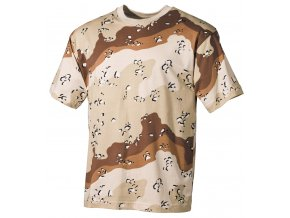 US Tričko 6 barev desert -  krátké rukávy