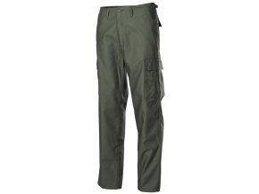 US klasické kalhoty BDU olivové - módní úprava