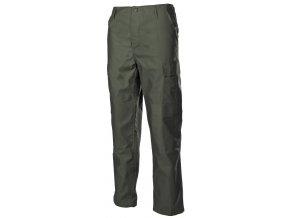US klasické kalhoty BDU olivové s podšitými koleny a sedací částí